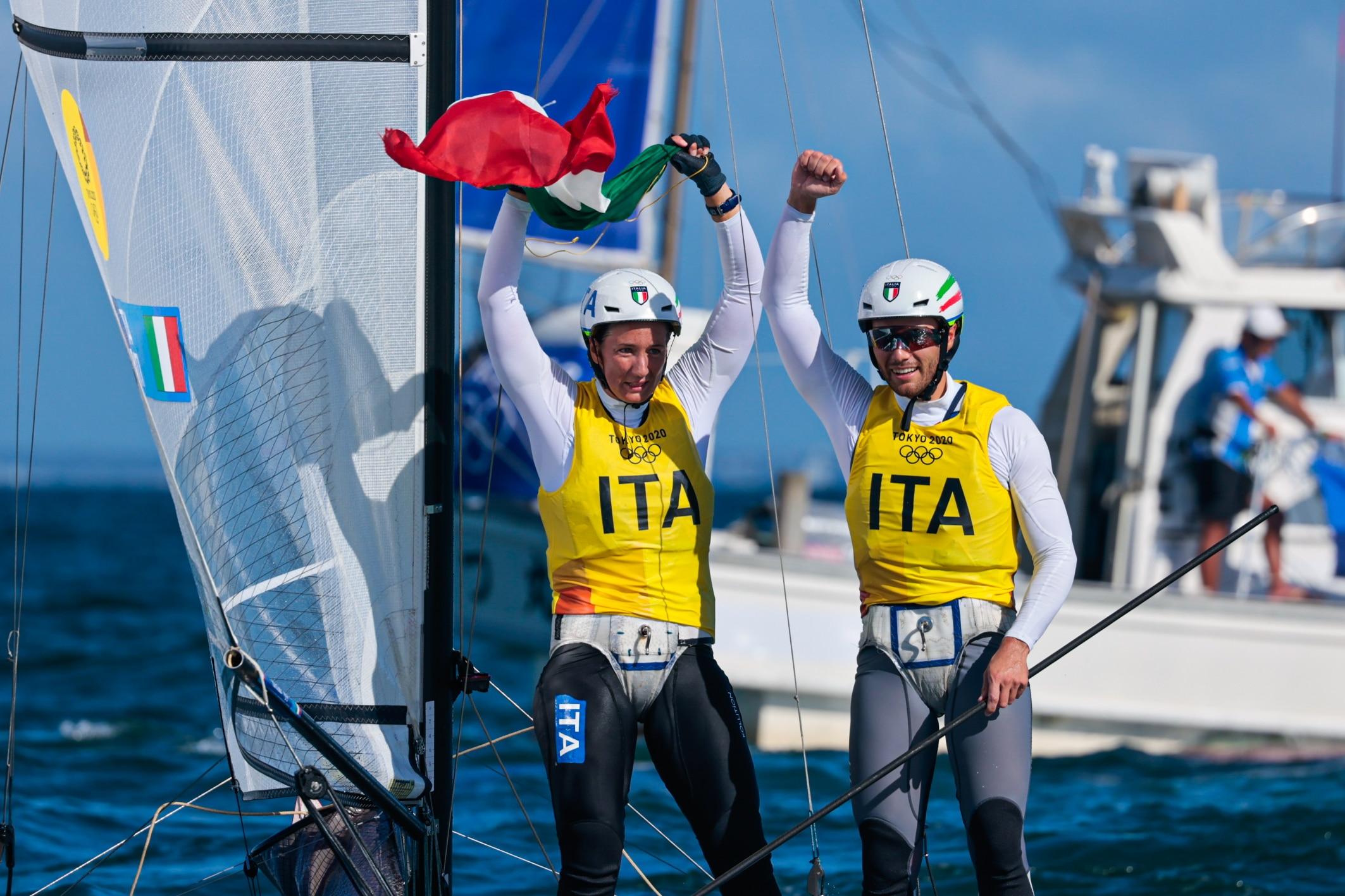 Tita-Banti, medaglia d'oro per la vela alle olimpiadi di Tokyo